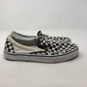 Vans Checkered Slip On. Men's 11.5